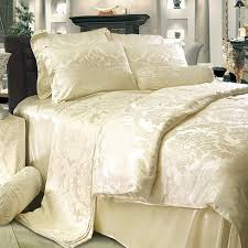 Bedding Sets Luxury 8 Pieces Silk Luxury Bedding Sets Set29
