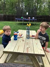 ana white bigger kids picnic table diy projects grand