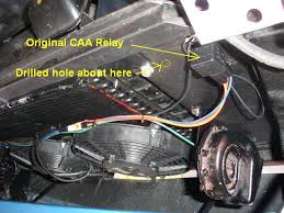 alternate wiring for aux cooling