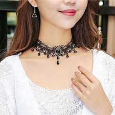 girl collar necklace images Fashion necklaces for women beauty girl jewerly gothic retro jpg