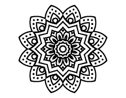 Mandala Coloring Pages Of Flowers 15792 Bestofcoloring Com Mandala Flowers Coloring Pages