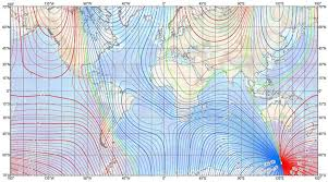 magnetic declination map which way really is magnetic declination info for compass