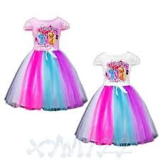 new arrival kids girls rainbow dash my little pony tutu dress