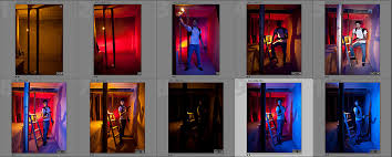 anatomy of a shoot creating dramatic color with gelled speedlites