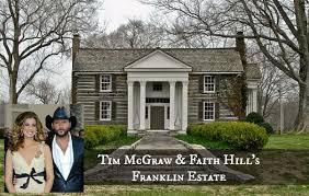 tim mcgraw and faith hill u0027s tennessee farm houses urban splatter