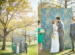 wedding backdrop trends mid century wedding inspiration backdrops green weddings and