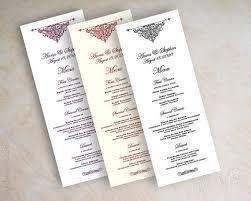 Diy Wedding Menu Cards Best 25 Diy Wedding Menu Cards Ideas On Pinterest