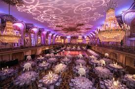 weddings in chicago colorful church ceremony purple ballroom reception in chicago