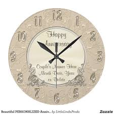personalized anniversary clocks beautiful personalized anniversary clock anniversary clock