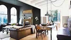 Best Chesterfield Sofa by 20 Best Open Plan Living Designs Rustic Room Chesterfield Couch