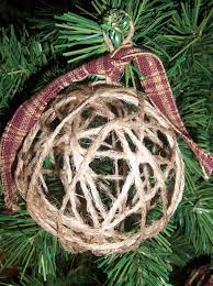 handmade jute christmas ornaments set of 4 ebay things i love