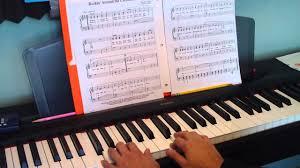 piano tutorial rockin u0027 around the christmas tree level 2b