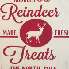 Reindeer Christmas Home Decor by Shop Christmas Wooden Sign On Wanelo