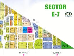 Islamabad Map Maps Of Cda Sectors U0026 Bahira Town M B Estate