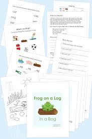 frog on a log in a bog breakfast