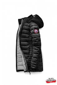 brookvale hooded coat canada goose outlet canada goose black