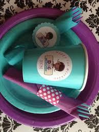 doc mcstuffins party doc mcstuffins party cups labels customer ideas onlinelabels
