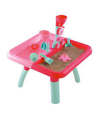 wheels world play table kids sandpits water play tables elc