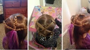 tutorial mengikat rambut kepang ayah ini ikuti kursus agar bisa menata rambut putrinya tribun