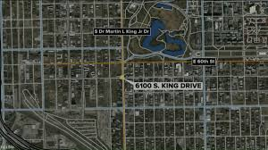 Chicago Shootings Map by Chicago Officer Attacked While Trying To Break Up Crowd 4
