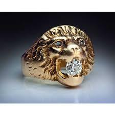 antique lion ring holder images Luxury lion head ring jpg