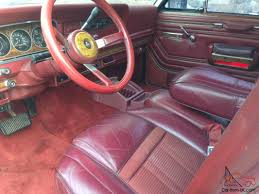 jeep burgundy interior grand wagoneer 4x4 rebuilt motor super clean 6