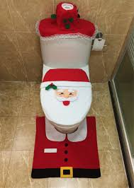 Bathroom Rug Sets 3 Piece by Online Buy Wholesale Christmas Bath Sets From China Christmas Bath
