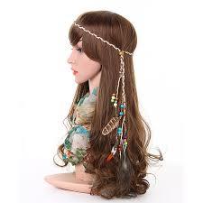 hippie hair bands awaytrawaytr tribal style feather boho headband