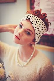 polka dot hair polka dot turban headband polka dot headband in 3 colours