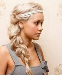 prom hairstyle with headband prom hairstyles with headband long