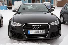 2012 audi rs6 spied audi rs6 avant prototype shows up in sweden