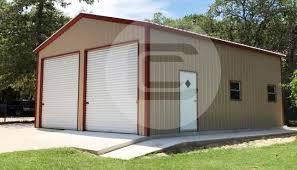 2 car garage 30x26x9 two car garage metalbarnscentral