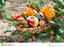 christmas fruit baskets christmas fruit basket stock images image 27247124