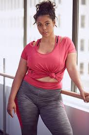 Plus Size Exercise Clothes Pmm First Look Ftf Active New Plus Size Activewear From Fashion