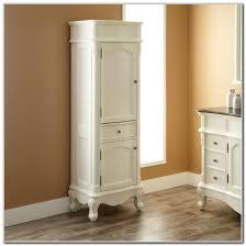Tall Narrow Bathroom Cabinet by Tall Narrow Bathroom Cabinet With Doors Cabinet Home