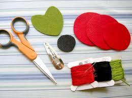 felt hair ordinary design diy felt flower hair clip tutorial and a