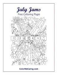 july free coloring pages u2013 celebrate 4th of july and summer