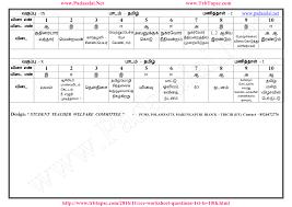 cce worksheet 2 tamil question u0026 answer keys ப டச ல