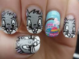 rabbit ideas nail art designs 2017 easy and simple