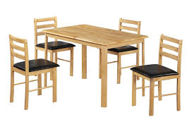 Chair Malaysia Rubber Wood Furniture Dining Table Set European - Rubberwood kitchen table