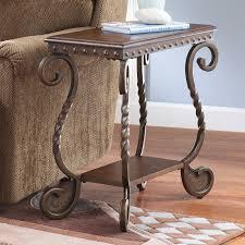 Ashley Outdoor Furniture Signature Design By Ashley Rafferty Chair Side End Table Dark