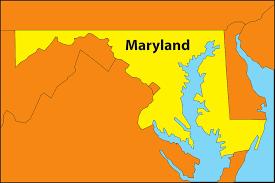 maryland mapa vector gratis maryland mapa geografía estado imagen gratis