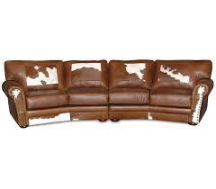 western leather sofa bonners furniture