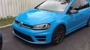volkswagen light blue walkaround of the ricer blue golf r youtube