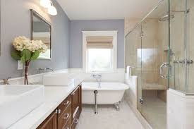 bathroom with walk in shower walk in shower vs tub which should you choose