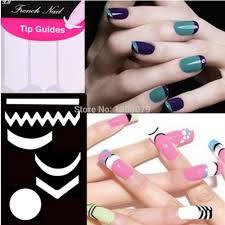 stencil nail artnailnailsart easy use stamping nail art template