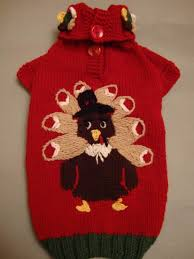 thanksgiving sweater a way to dress up your fido this
