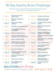 Challenge Injury 30 Day Healthy Brain Challenge Day 15 Solutions For Living