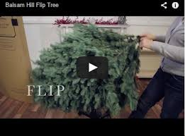 and easy setup with balsam hill flip trees