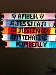make bracelet with name images Name bracelets custom made friendship bracelets jpg